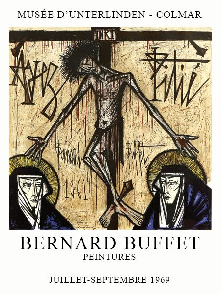dd083af1bf9 Bernard BUFFET ( 1928 - 1999 ) - Peintre Francais - French Painter